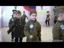 Смотр строевой песни. Детский садик Одуванчик
