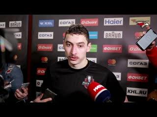 Илья Михеев после 5 матча с Уфой: