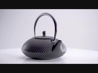 Чайник чугунный тэцубин