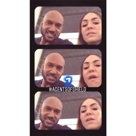 AOS and Series on Instagram nataliacordovabuckley henrysimmons mack yoyo agentsofshield aos marvel""