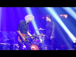 Queen and Adam Lambert Under Pressure I Want To Break Free Vegas 19-9-2018