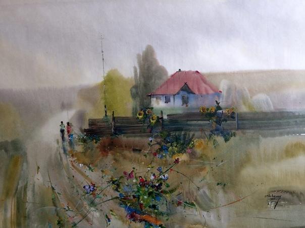 ХУДОЖНИК ИОН КАРЧЕЛАН (ION CARCHELAN) Художник Ион Карчелан (Ion Carchelan) создает свои произведения в технике акварель.Это, так называемая, акварель по мокрому, или влажная акварель с
