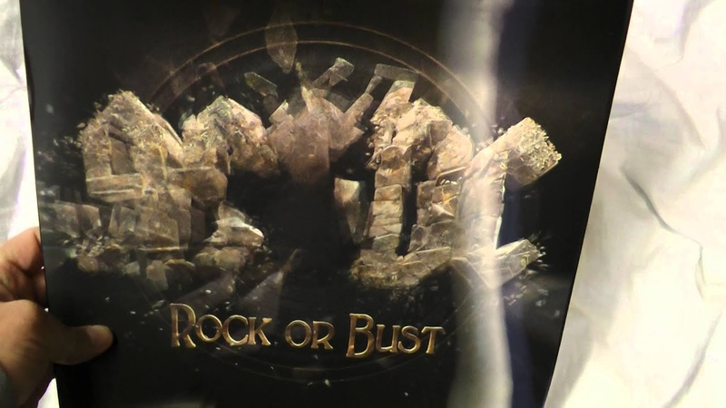 AC/DC - Rock or Bust vinyl record review