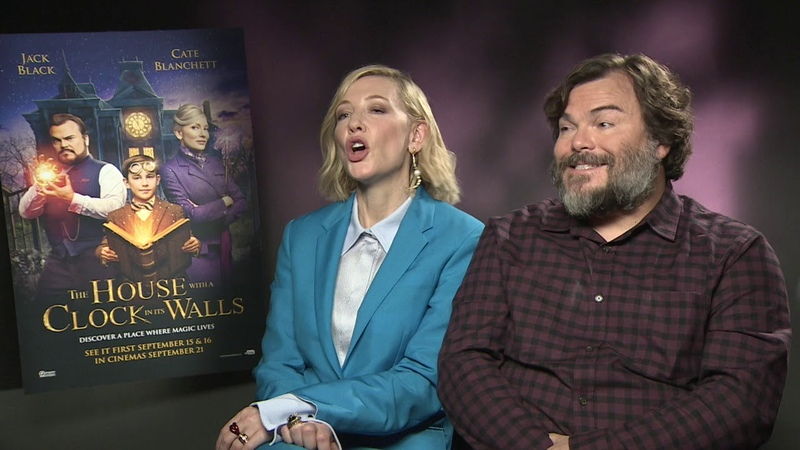 Cate Blanchett and Jack Black talk The House With A Clock In Its Walls
