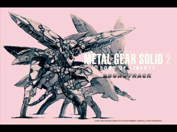 Music Metal Gear Solid 2 Tanker Incident