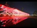 Колёса велосипеда с подсветкой