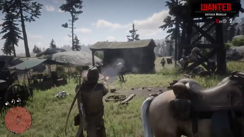 Red Dead Redemption 2 New Gameplay Leaked