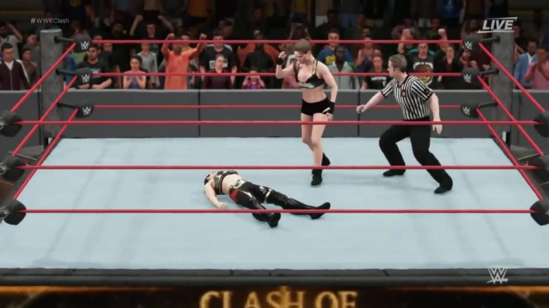 Ronda Rousey Vs Shayna Baszler - Champion Vs Champion Clash Of Champions 2018
