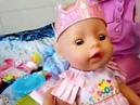 Распаковка и обзор куклы Беби бон. Набор Baby born с днем рождения