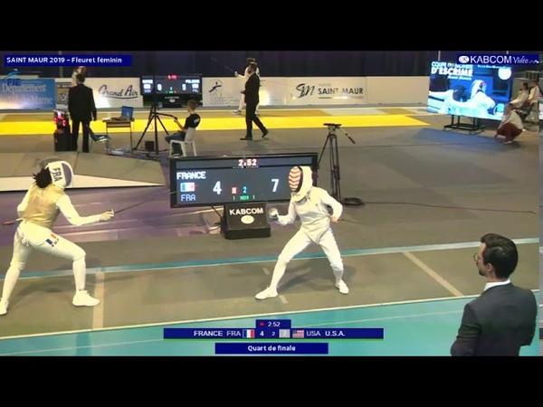 ST MAUR 2019 FWI T04 France FRA vs Usa USA