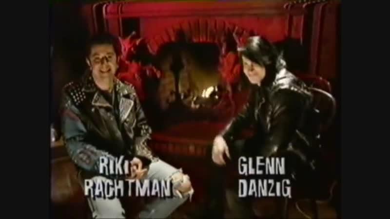 Glenn Danzig on Headbangers Ball Halloween 1993