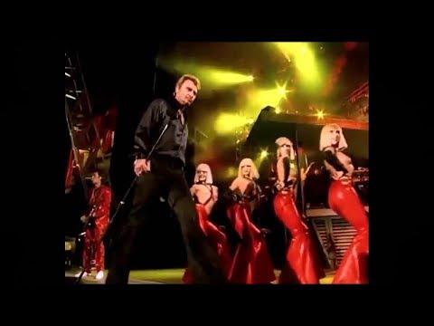 Le Feu - Johnny Hallyday Les Girls du Crazy Horse - 2000