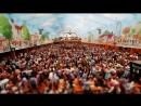 The Oktoberfest (4k - Time-lapse - Tilt-shift)