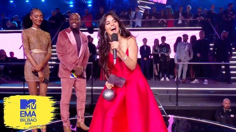 Camila Cabello Accepts Best Video Award   MTV EMAs 2018