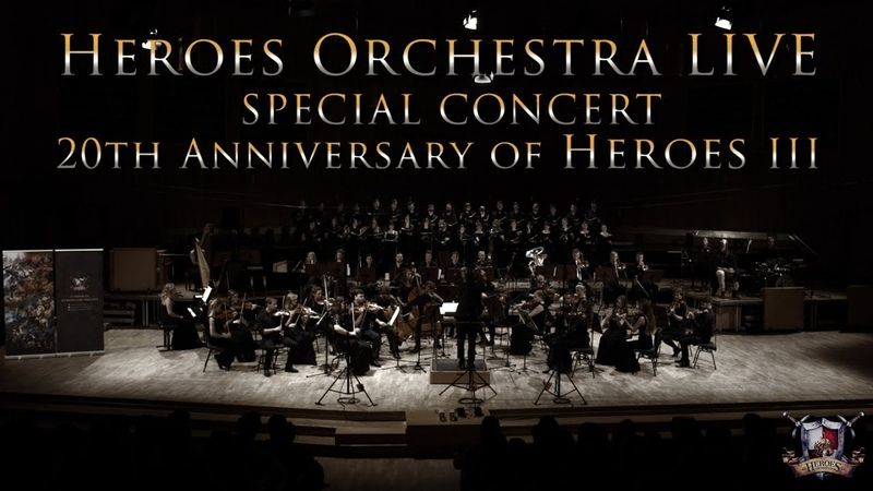 Heroes Orchestra LIVE CONCERT - 20th anniversary of Heroes III (part 1/2)