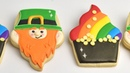 ST. PATRICK'S DAY POT OF GOLD and LEPRECHAUN COOKIES