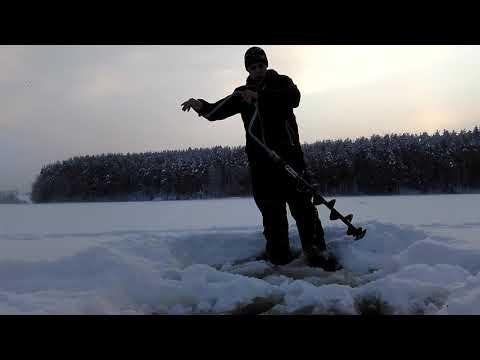 Обзор шведского ледобура MORA Ice