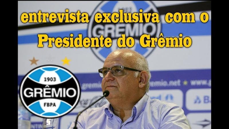 O Dupla em Debate recebe o Presidente do Grêmio, Romildo Bolzan! Traz as últimas notícias do Grêmio