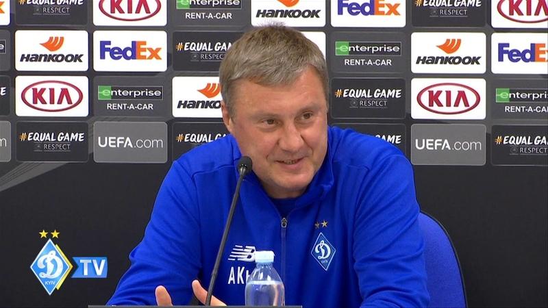 Олександр ХАЦКЕВИЧ: Все вирішиться ну футбольному полі