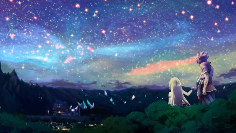 A Great way to go ~ [Fairy Tail][Natsu][Lucy Heartfilia] [Uwide]