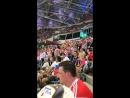 Хорватия празднует забитый гол