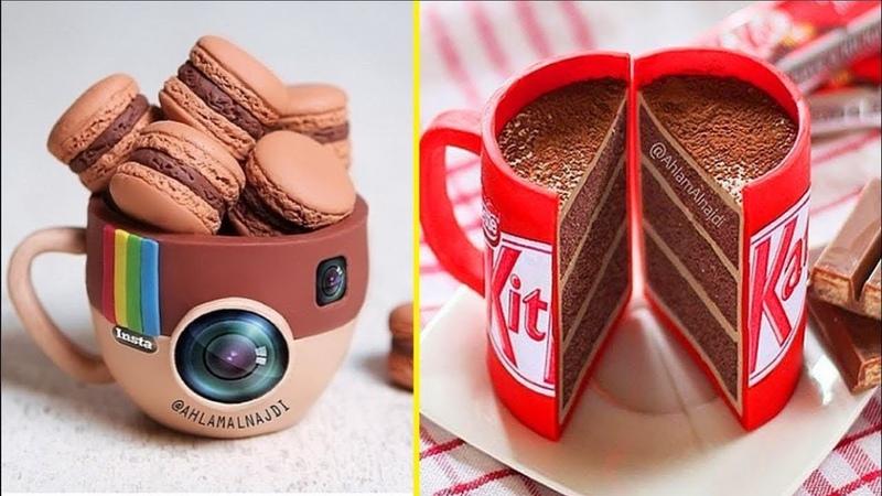 Most Amazing Chocolate Cakes Decorating Compilation How to Make Chocolate Cake Satisfying Cake