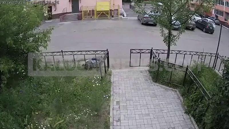 Иномарка снесла пешехода на Телевизионной в Калуге