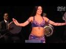رقص شرقى احلى من صافيناز و انستازيا -Aida Bogomolova Bellydancer(Drum Solo)