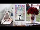 DIY Room Decor 21 DIY Room Decorating Ideas for Teenagers DIY Wall Decor Pillows etc
