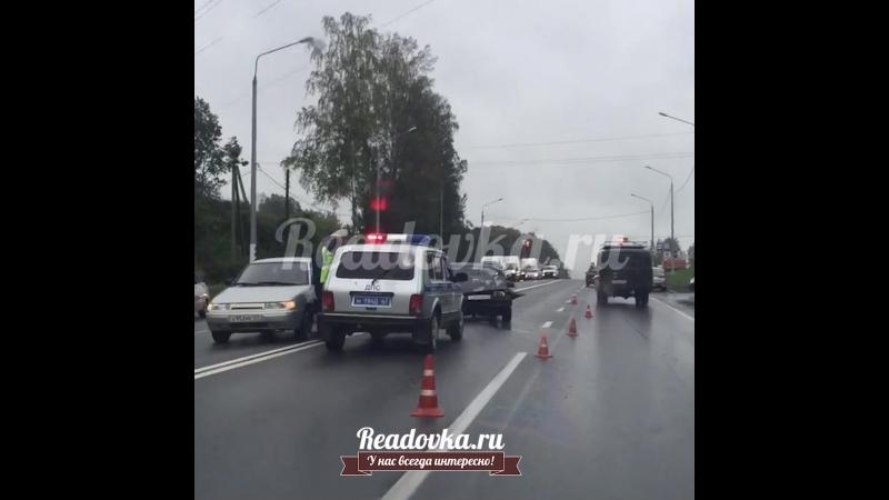 Жесткая авария под Смоленском