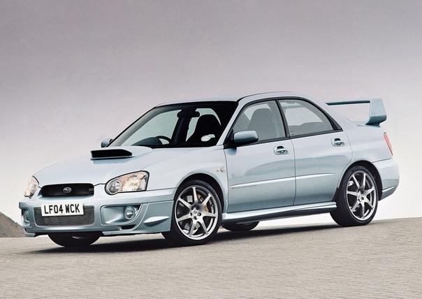 Обзор : Subaru Impreza WRX STi WR1 (GDB)