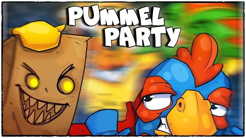 Хочешь потерять друзей? Просто поиграй в Pummel Party! (угарная настолка)