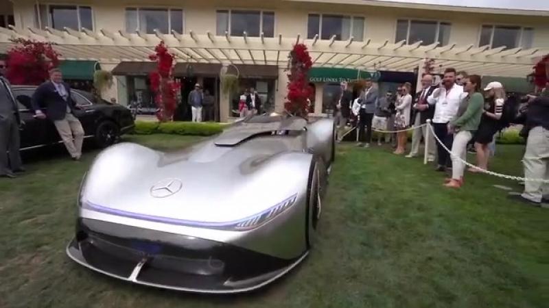 Электрический концепт Vision EQ Silver Arrow от Mercedes-Benz