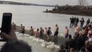 Plivanje za časni Bogojavljenski krst - Markovačko jezeru 2019