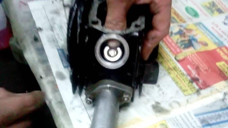 установка клапанов на мопед альфа