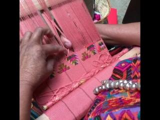 Закладное ткачество из Гватемалы