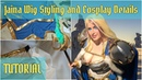 Cosplay Sleeves, Skirt, and Wig for Jaina Proudmoore