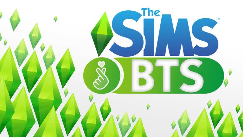 The Sims4 ДОБРО ПОЖАЛОВАТЬ BTS beginning