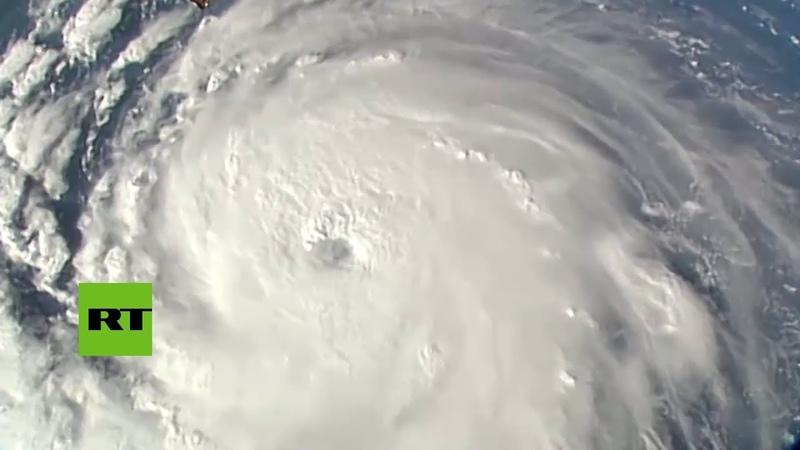 Imágenes grabadas desde el espacio muestran al huracán Florence en su aproximación a los EE.UU.