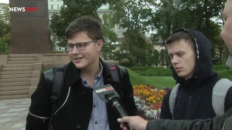 Закон про мовну тиранію розсварює українців Бліц-опитування для NewsONE