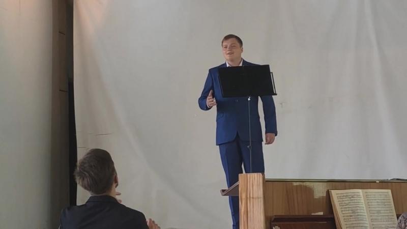 Ария Дона Оттавио Dalla sua pace из оперы Дон Жуан