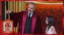 Miguel Bosé promete escribirle una canción a Taisia Pequeños Gigantes 2019