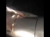Башкирия, Уфа. Загорелся двигатель на самолете авиакомпании REDWINGS Рейс Уфа - Сочи