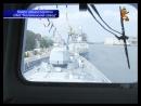На фрегате Адмирал Горшков поднят Андреевский флаг