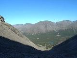 Северный Чорргор- самый высокий перевал массива, один из пройденных категорийных, великолепный вид, спустившись со снежника