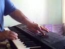 Снег кружится...Мелодия песни... Сыграна на синтезаторе Yamaha psr-220...