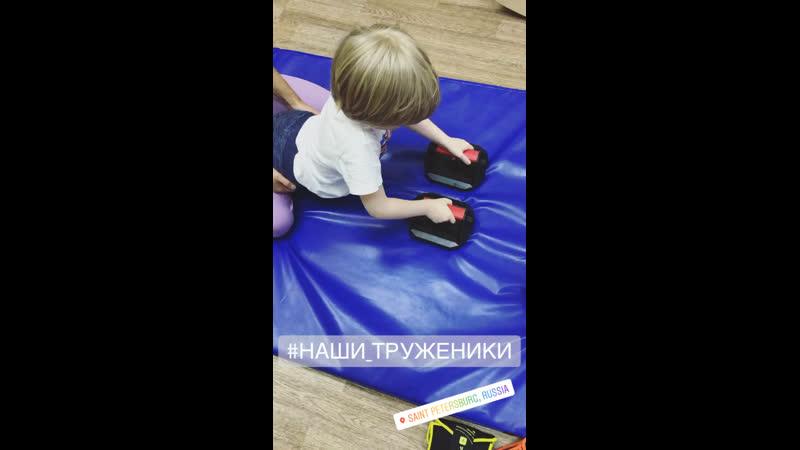 Упражнение для развития мышц верхнего плечевого пояса