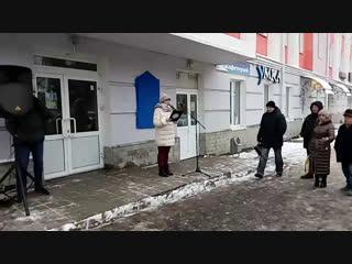Открытие мемориальной доски к 100-летию А.И.Солженицына #вГусе (vk.com/vguse)