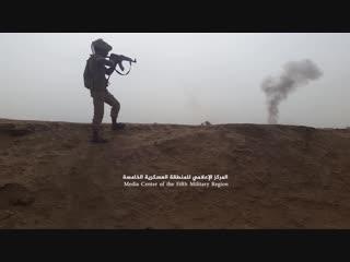 شاهد¦معارك وتقدمات للجيش في محور#عاهم_nواللواء الركن يحيى صلاح_nيتفقد المقاتلين ويشيد ببطلاتهم