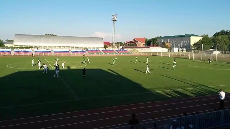 «Кубань Холдинг» - «Медик Сочи» 2:0 (0:0) Голы: 1:0 - С.Балоян (38- с пенальти), 2:0 - А.Вагидов (55).